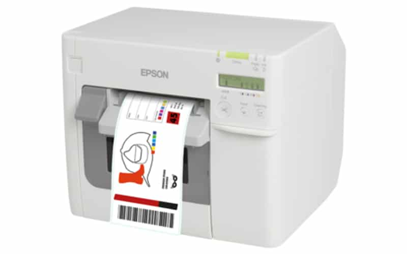 Farb-Etikettendrucker Epson C3500