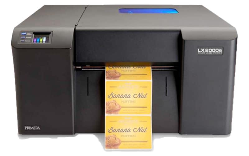 LX2000e Farbetikettendrucker