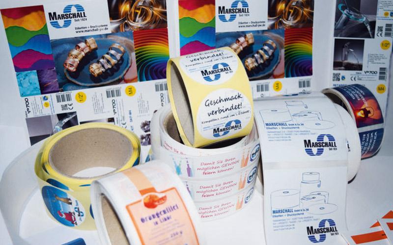 InkJet-Etiketten-Marschall