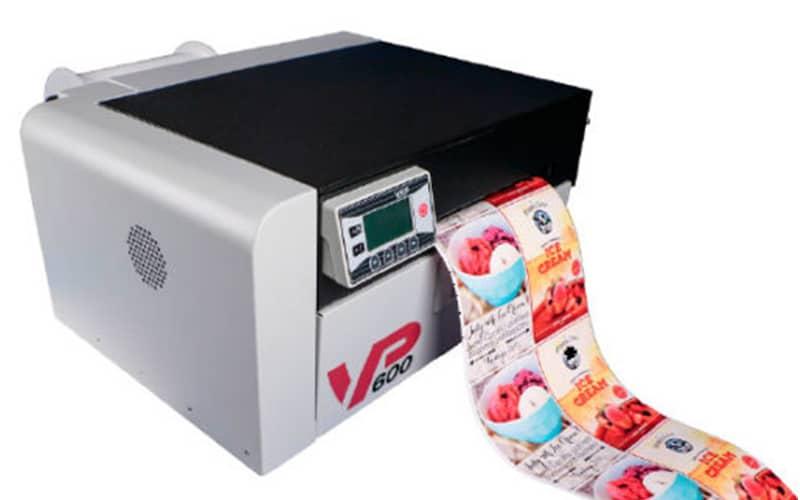 VP600 Farbetikettendrucker
