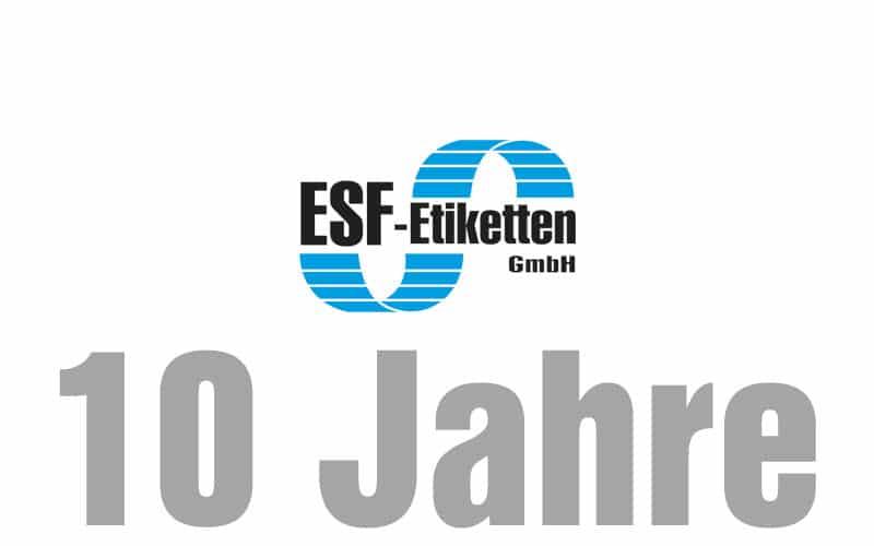 Tochterfirma ESF feiert 10 jähriges Jubiläum