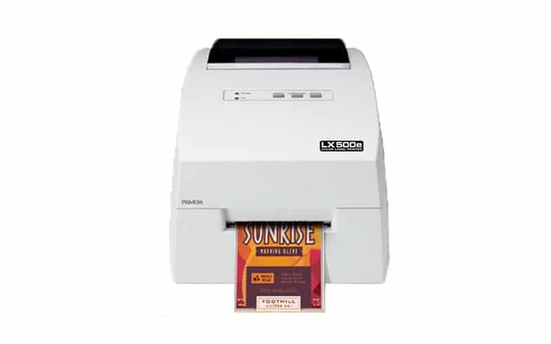 DTM print - LX500e Farbetikettendrucker