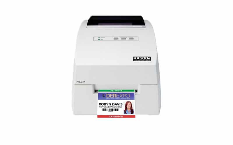 RFID Farbetikettendrucker