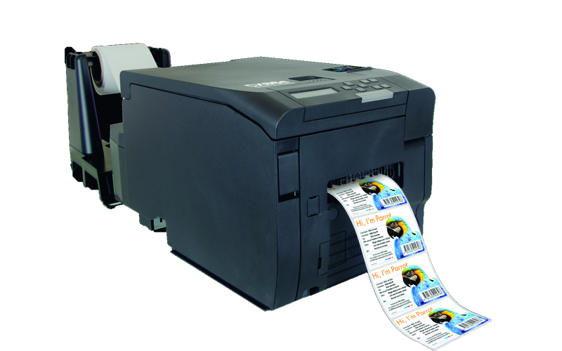 CX86e Farbetikettendrucker